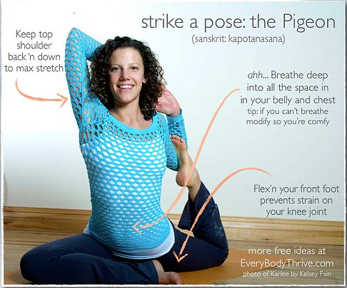 kapotasana pigeon yoga pose benefits  posturas de yoga
