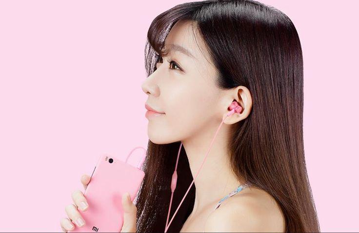 Original Xiaomi Piston Fresh Edition Wired Control Earphone Headphone With Mic