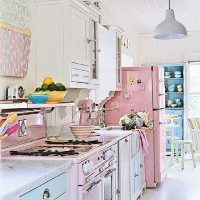 Retro Kitchens And Retro Kitchens On Pinterest