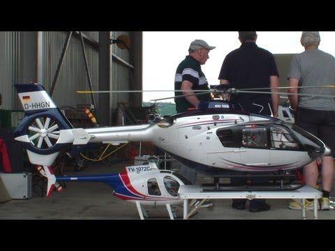 Eurocopter EC 135 scale Turbine rc Helicopter Swiss Heli Challenge 2013