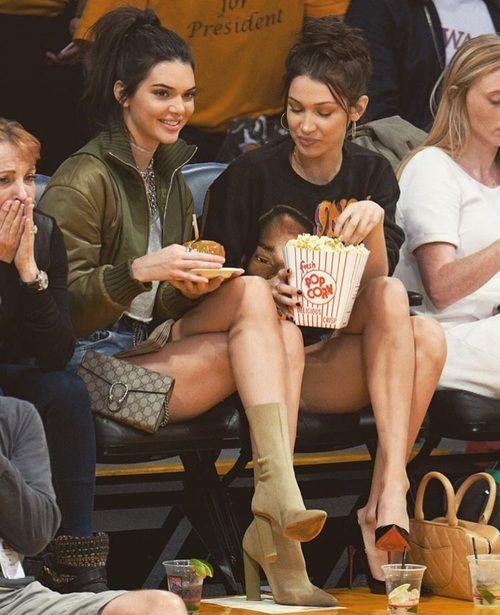 Kendall Jenner ✾ and Bella Hadid ✾