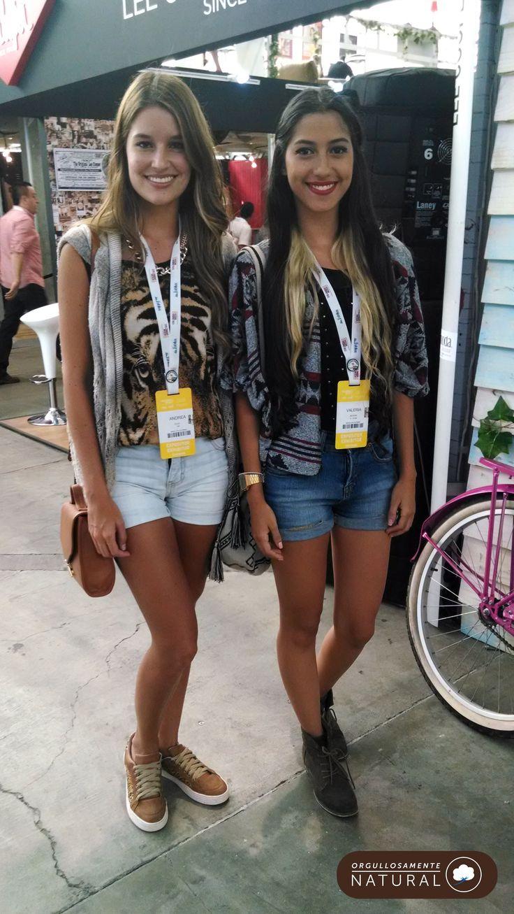 Denim Shorts #prints #StreetStyle