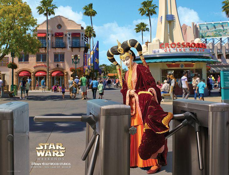Star Wars weekends at Disney World: Queen Amidala, Disney Stars, Disney World, Disney Star Wars, Starwars Weekend, Hollywood Studios, Weekends 2012