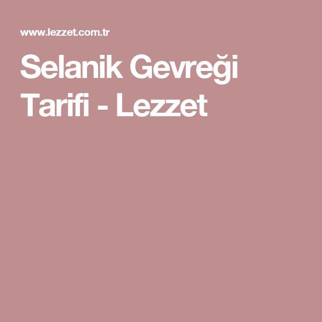 Selanik Gevreği Tarifi - Lezzet