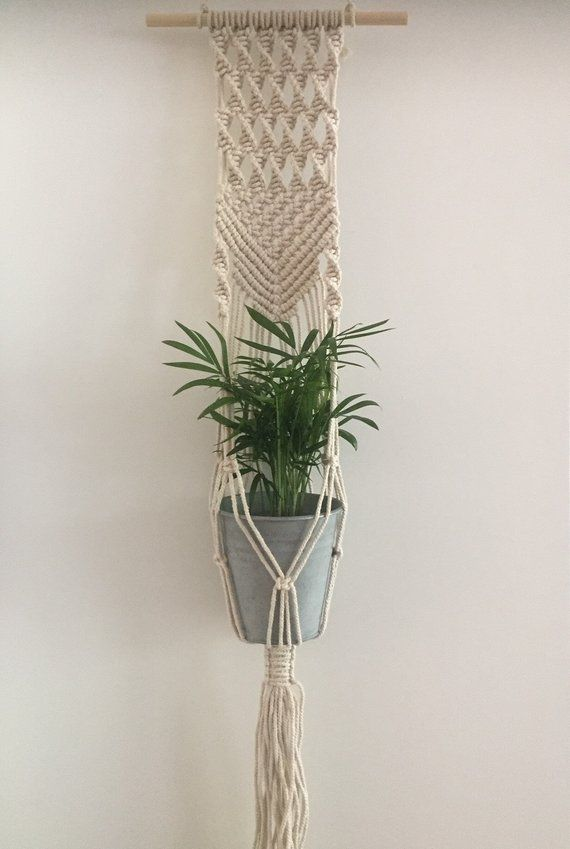 Macrame Plant Pendant Wall Planter Wall Hanging Wall Plant