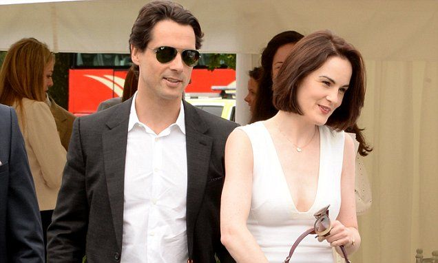 Downton Abbey star Michelle Dockery 'engaged' to John Dineen