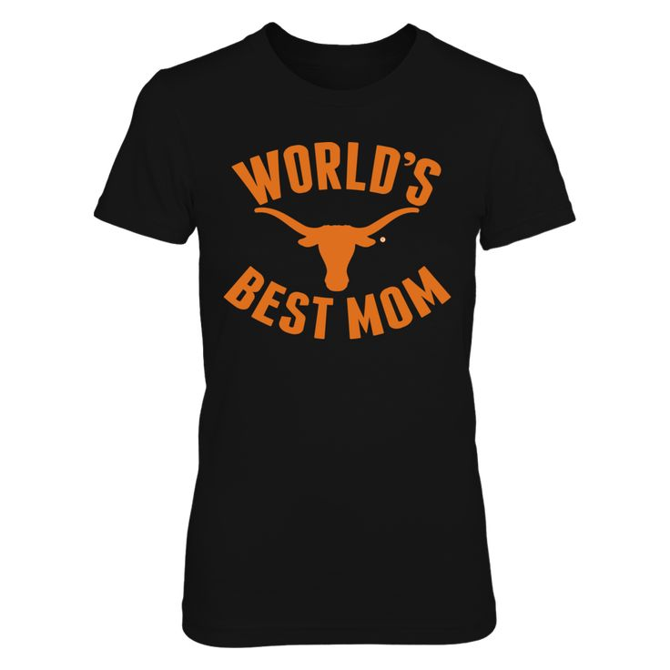 UT Longhorns World's Best Mom T-Shirt, University of Texas Mother's Day gift for a mom who graduated from UT in Austin, San Antonio, or Arlington. World's Best Mom for a Longhorn alumni.  The Texas Longhorns Collection, OFFICIAL MERCHANDISE  Available Products:          Gildan Women's T-Shirt - $27.95 Next Level Women's Premium Racerback Tank - $29.95 Gildan Unisex T-Shirt - $25.95 Gildan Unisex Pullover Hoodie - $49.95 District Women's Premium T-Shirt - $29.95 Gildan Long-Sleeve T-Shirt…