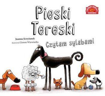 Czytam sylabami. Pieski Tereski - Krzyżanek Joanna | Książka w Sklepie EMPIK.COM