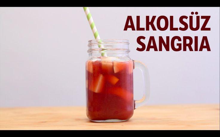 Bu Akşam İspanyolların Enfes Lezzeti Sangria'yı Alkolsüz Olarak Yapmasak mı?