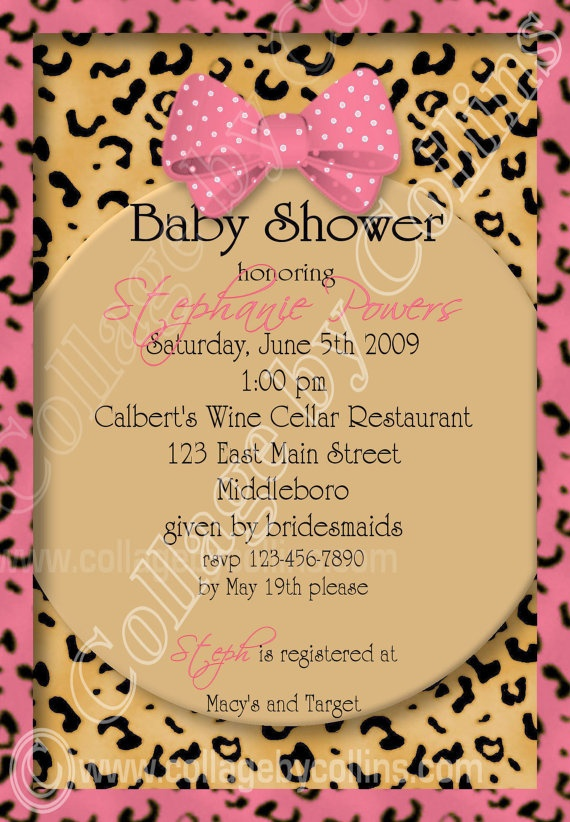 best animal print baby shower images on   animal, Baby shower