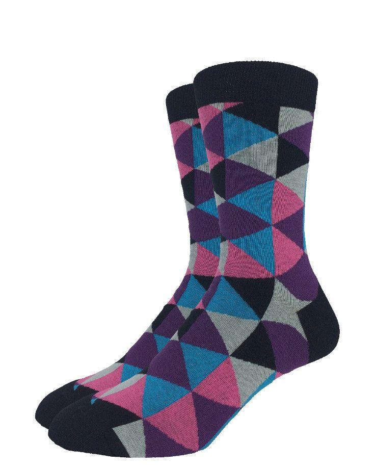Purple Jester | Good Luck Sock | goodlucksock.com #socks