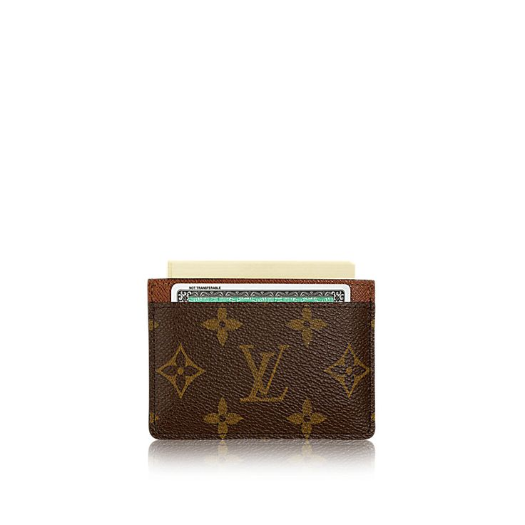 Louis Vuitton SOLD OUT Epi Leather Silver Men\'s Business Card Case ...