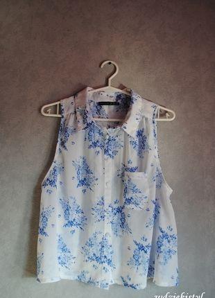 Kup mój przedmiot na #vintedpl http://www.vinted.pl/damska-odziez/koszulki-na-ramiaczkach-koszulki-bez-rekawow/10874794-bluzka-w-kwiaty