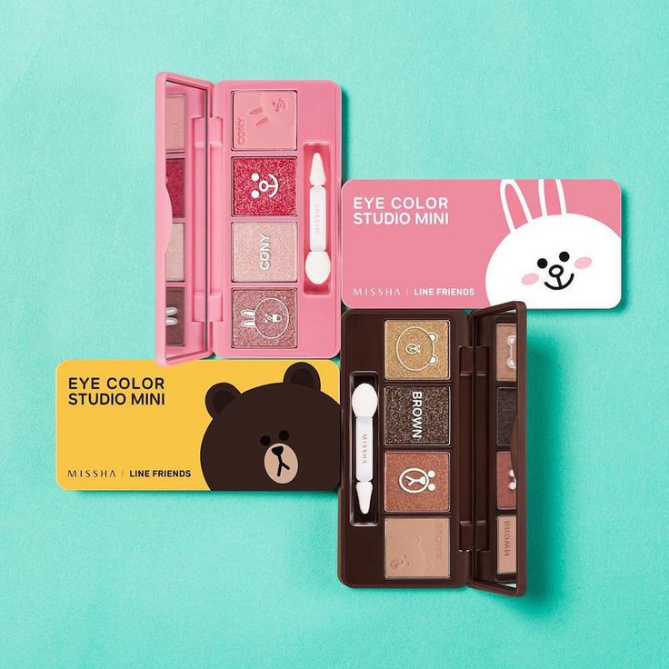 Line has collaborated with Korean cosmetics brand Missha to release a limited edition collection of makeup and skincare products.