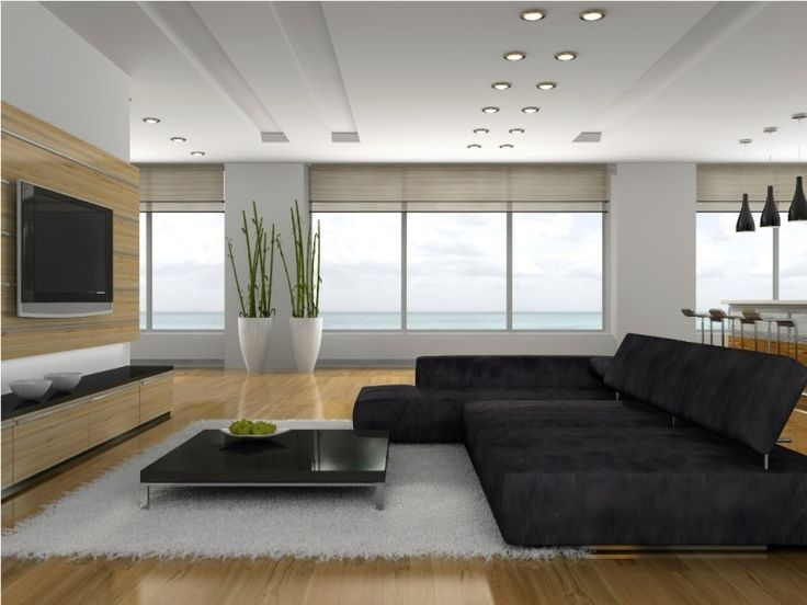 Decorating, Fascinating Design For Big Living Room With Ceiling Recessed Lighting And Wooden Floor Ideas: How to Install Recessed Lighting Properly