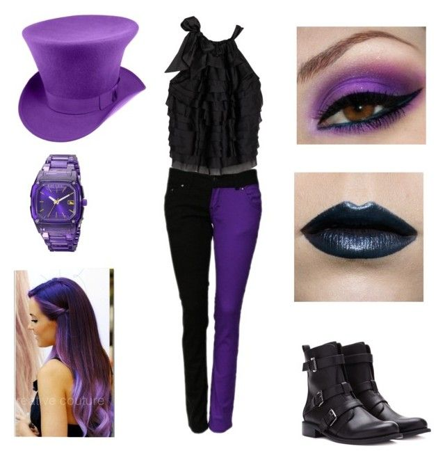 """Mad as a Hatter"" by hobbits-and-elves ❤ liked on Polyvore featuring Cynthia Rowley, Forever 21 and Freestyle"