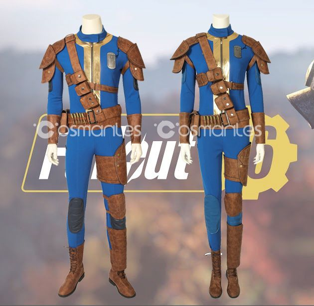 Fallout 76 New Vault 76 Cosplay Outfits #fallout76