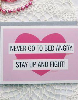 Funny Wedding Advice Card