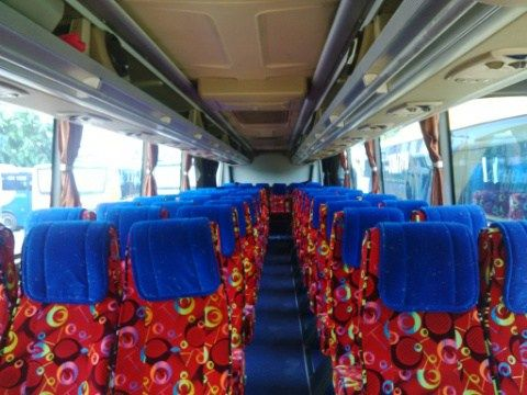Sewa bus Pariwisata seat60