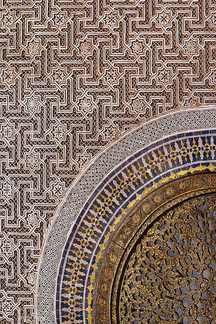 ~Exotic Moroccan patterns