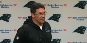 "CHARLOTTE, N.C. -- Carolina Panthers head coach Ron Rivera wants to thank fans for showing their support after the team's loss to the Atlanta Falcons. Rivera said he was really touched by the amount of fans that were outside Bank of America Stadium when the Panthers returned from Atlanta. ""To…"