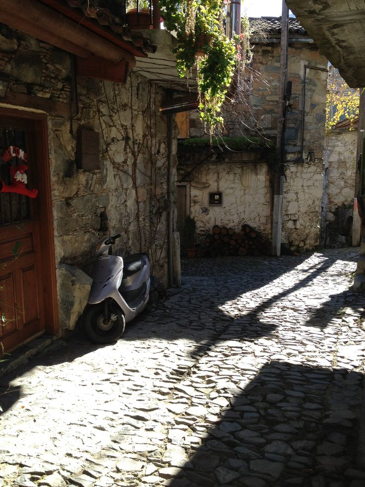 village in mounteins of Cyprus