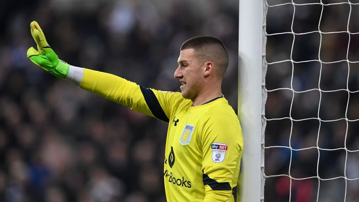 Aston Villa make a move to keep Sam Johnstone