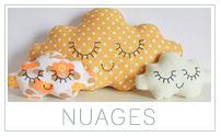 Tuto pour faire des coussins nuages http://lamaisondesjolieschoses.blogspot.fr/2013/02/tuto-coussin-nuage-des-oiseaux-des.html