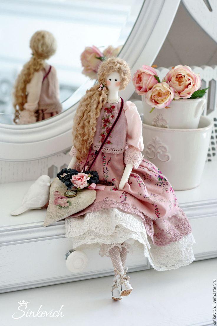 Купить Элизабет - тильда, кукла ручной работы, кукла интерьерная, текстильная кукла, тильда кукла