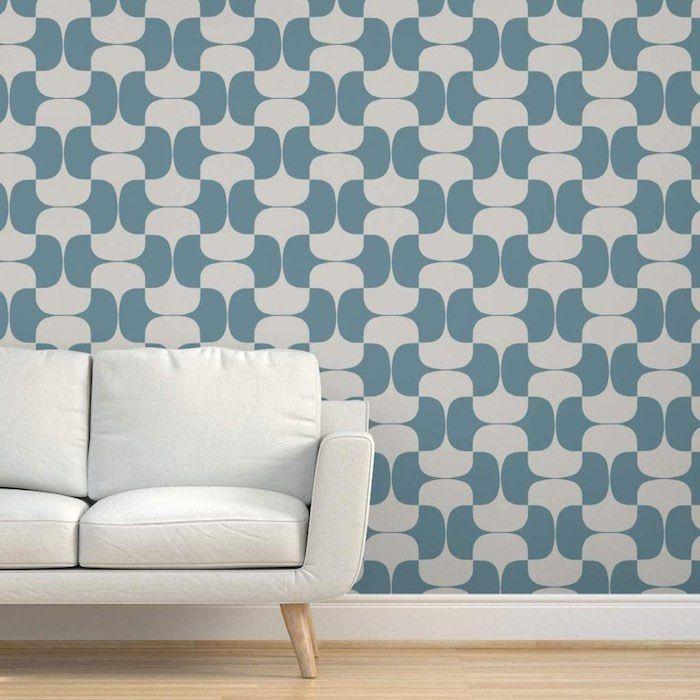 Colorful Fabrics Digitally Printed By Spoonflower Mid Century Modern Teal Mid Century Modern Wallpaper Mid Century Modern Patterns Mid Century Modern Fabric