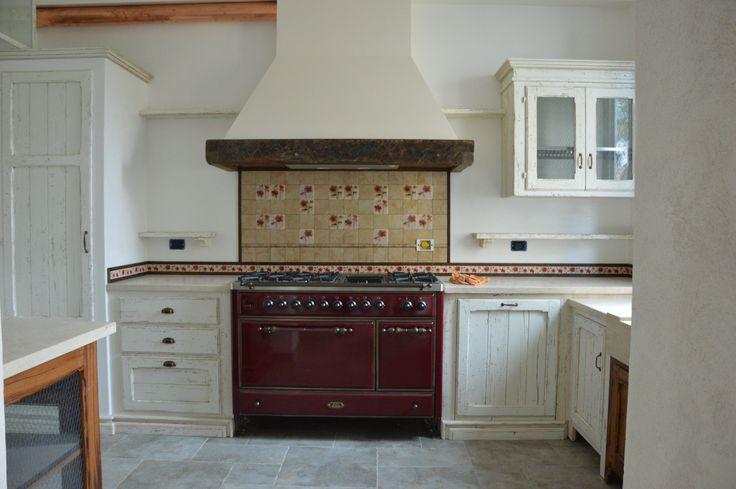 cucina in abete antico decapato  falegnameria bensi