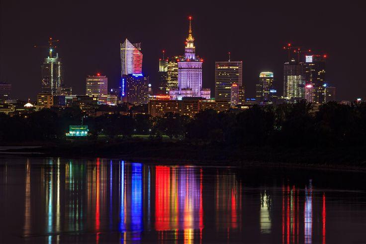 ZŁOTA 44 Warsaw skyline #Złota44 #Warsaw #Poland #architecture #skycrapers #skyline #city