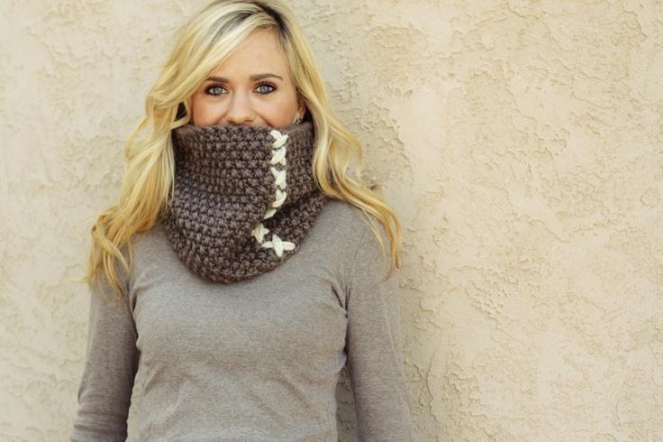 knitting pattern PDF / the COBBLESTONE cowl. $3.00, via Etsy.