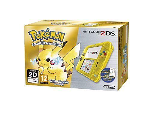 Nintendo 2DS Transparent Yellow   Pokemon Yellow for Lilian