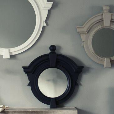 Ardley Wooden Framed Mirror small clay grey £282