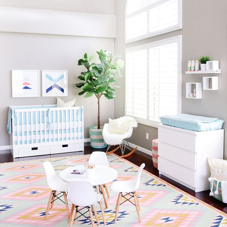 Houston's Nursery reveal + giveaway - Kailee Wright