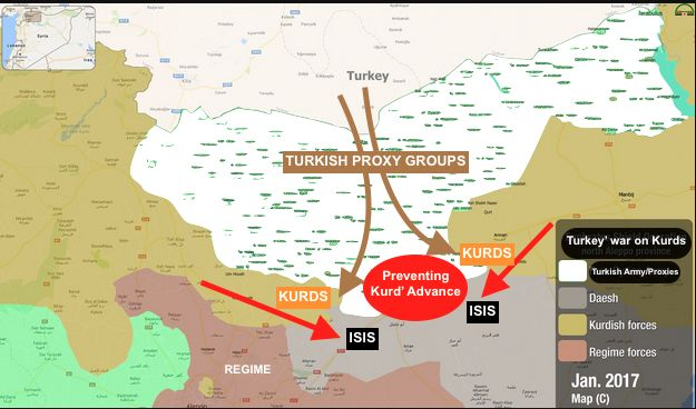 #Media #Oligarchs #MegaBanks vs #Union #Occupy #BLM #Humanity  While Kurds & allies fight ISIS in #Syria = #WrathOfEuphrates  Erdogan/#Turkey aiming to prevent Kurds/SDF advance Not IS= #EuphratesShield   https://twitter.com/curdistani/status/823123160878944256