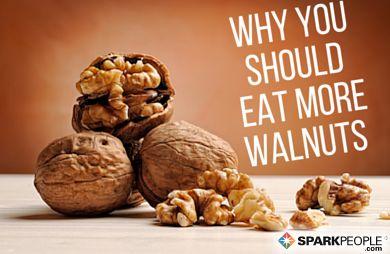 Walnut Health Benefits via @SparkPeople