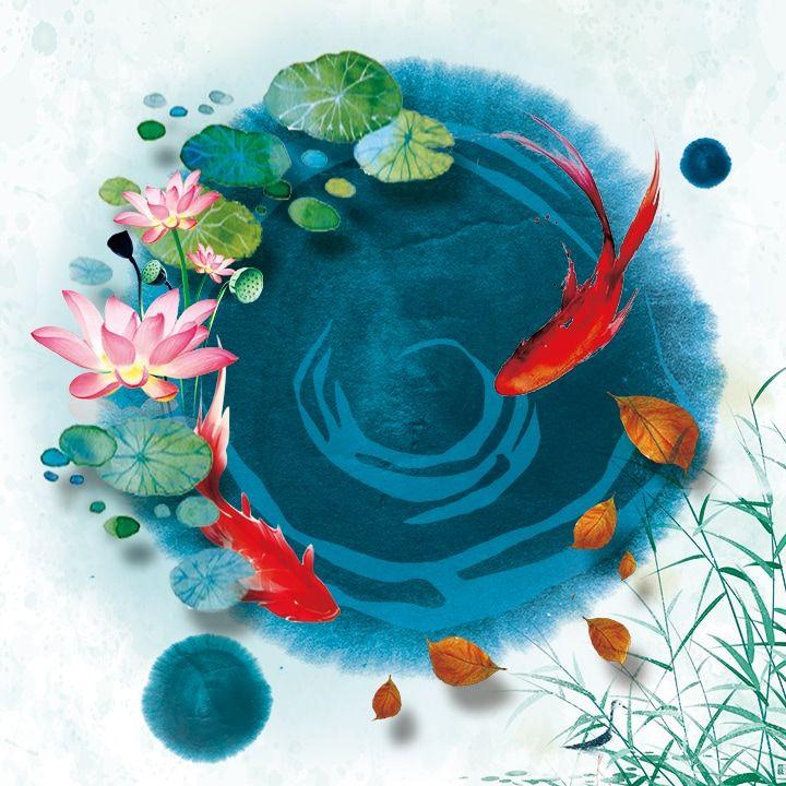 Nature's Beauty Art Exhibition - International Gallery Of The Arts (IGOA)- Min Lu- The Pond- Digital Contact: elainelu1008@gmail.com