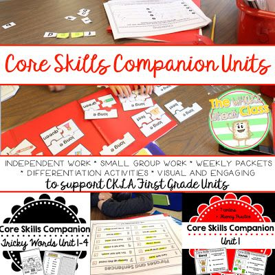Companion units to CKLA Skills Units for 1st grade Add engagement and differential to you CKLA lessons! The Whole Wheat Class