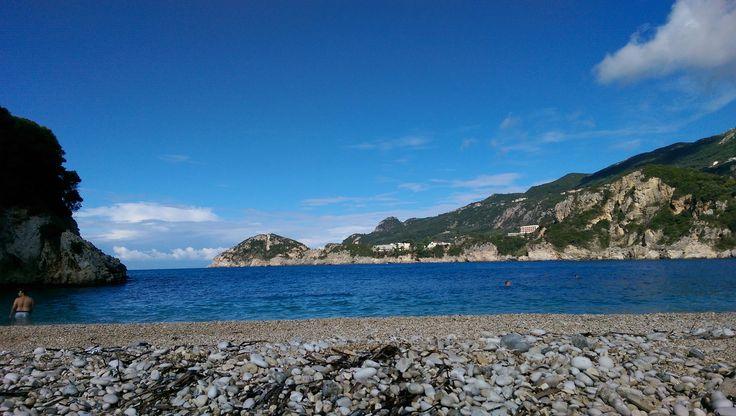 Rovinia Beach, Corfu