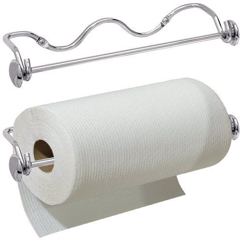 Interdesign Awavio Wall Mount Paper Towel Holder Chrome