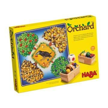 Orchard - Gyümölcsöskert - családi társasjáték 3 - 6 éves korig - HABA - Egyszerbolt