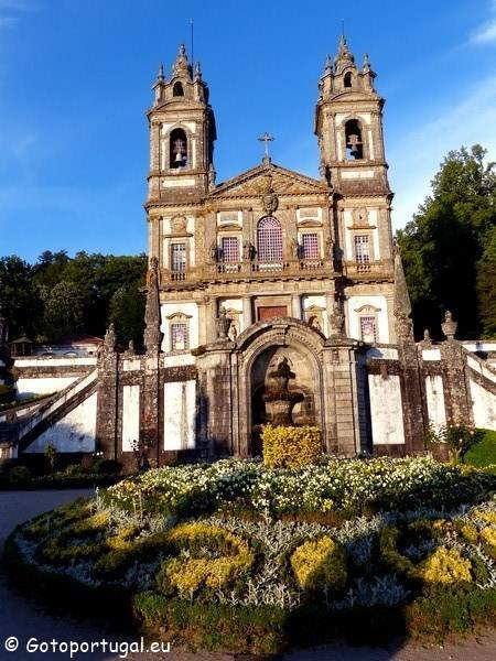 Bom Jesus de Braga sanctuary is another beautiful place to go when visiting Braga.