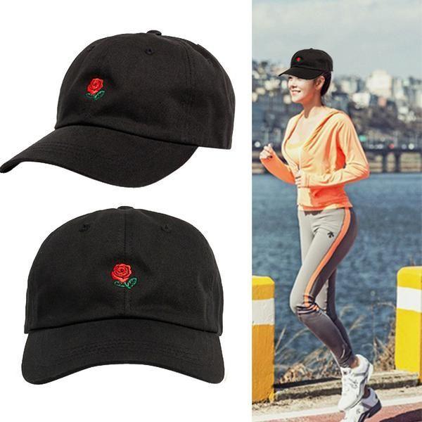 0625b606 #FASHION #NEW FEITONG Women's cap Fashion Embroidery Cotton Baseball Cap  Boys Girls Snapback Hip Hop Flat Hat Summer Hats For Unisex 2018 #HatsForW…