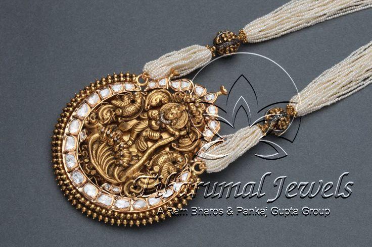 Nakshi Locket   Tibarumal Jewels   Jewellers of Gems, Pearls, Diamonds, and Precious Stones