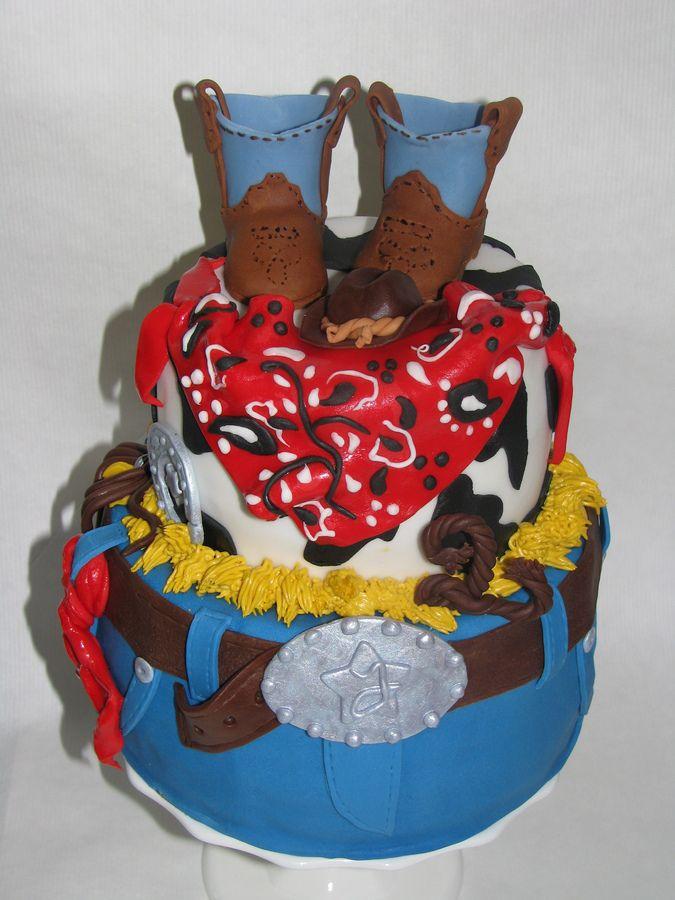 Cupcake boy first birthday with removable smash cake — Children's Birthday Cakes