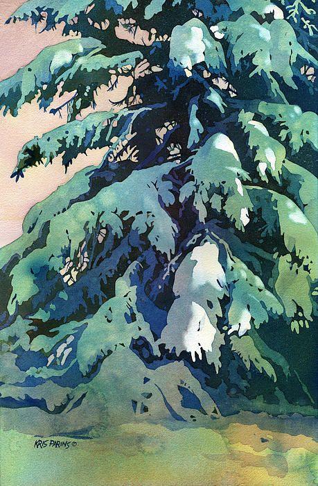 Silent Season Print By Kris Parins