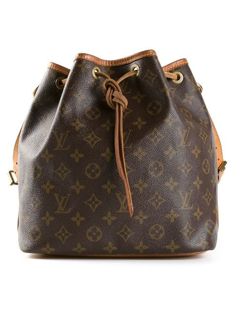 Shop Louis Vuitton Vintage monogram petite bucket bag in Bella Bag from the world's best independent boutiques at farfetch.com. Shop 300 boutiques at one address.