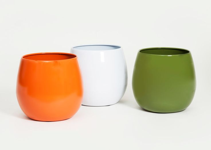 From Allsopgarden.com · Indian Metal Planters Come In An Array Of Modern  Colors And Shapes. They Are Unbelievably